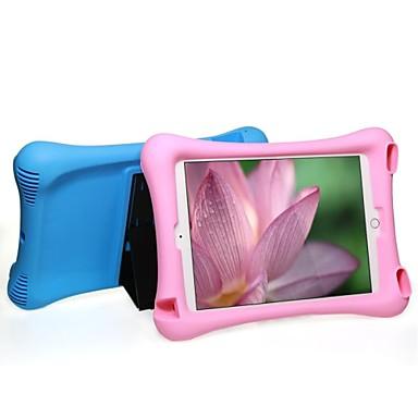Pouzdro Uyumluluk iPad Air 2 Şoka Dayanıklı Satandlı Tam Kaplama Kılıf Tek Renk TPU için iPad Air 2