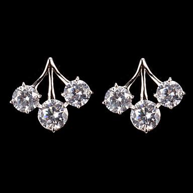 Damen Anderen 1 Tropfen-Ohrringe - Regulär Klassisch Klar Ohrringe Für Party
