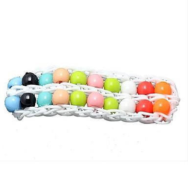DIY twistz silikone Bandz perler elastikker armbånd perler regnbue farve væven stil for børn 12pcs