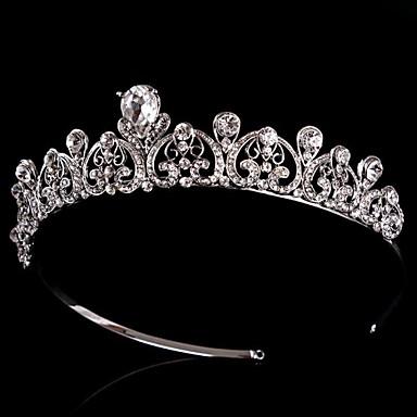 Vintage Wedding Bride  Austria Rhinestone Silver  Hair Accessories headpiece