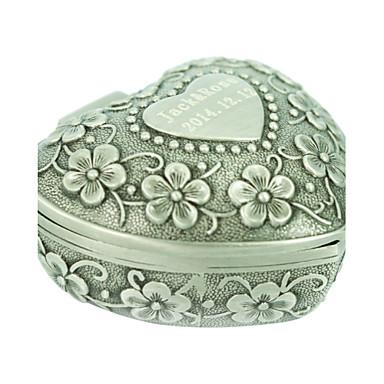 Schmuckbehälter - Modisch Silber 9 cm 5.5 cm 4.2 cm / Damen / Alltag