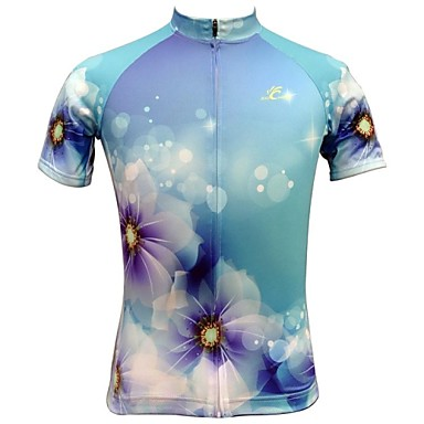 JESOCYCLING Women's Short Sleeves Cycling Jersey Bike Jersey, Quick Dry, Breathable