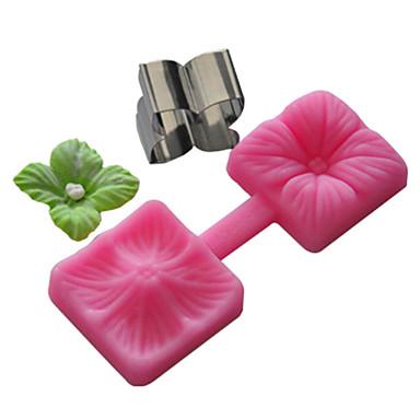cukor kézműves eszközök virágalapant és gumi paszta penész sütemény penész, sütő eszköz
