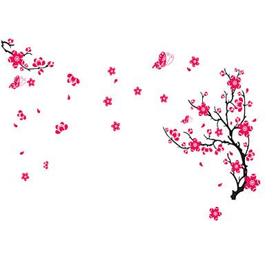 muurstickers muur stickers, stijl perzik bloesem pvc muurstickers