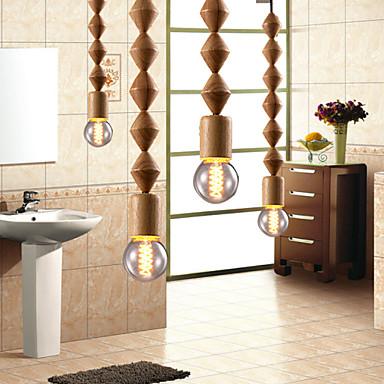 maishang® stylu tradycyjne żyrandole mini / Klasyczny salon / sypialnia / jadalnia / gabinet / drewno / biura bambusa