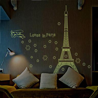 Decoratieve Muurstickers - Lichtgevende Muurstickers Stilleven / Romantiek / Mode Woonkamer / Slaapkamer / Eetkamer