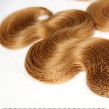Włosy brazylijskie Body wave Ludzkie włosy wyplata 3 elementy 0.3