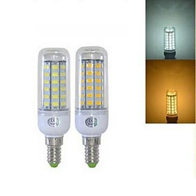 5W E14 Żarówki LED kukurydza T 56 Diody lED SMD 5730 Ciepła biel Zimna biel 450lm 2800-3200/6000-6500K AC 220-240V