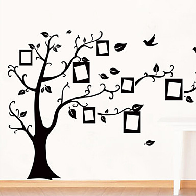 Environmental Removable Tree Photo Frame PVC Wall Sticker