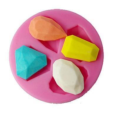 four-c siliconen fondant schimmel diamant taart decoreren schimmel kleur roze