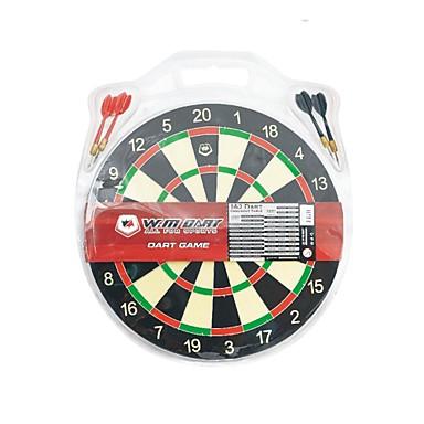 Winmax® Indoor Game 12 Inch Mini Paper Dartboard with Four Iron Darts