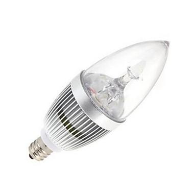 120 lm E14 LED-kaarslampen 5 leds Krachtige LED Koel wit AC 85-265V