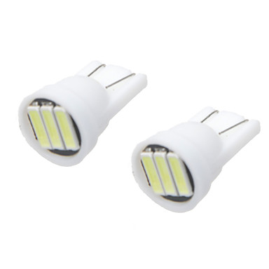 Car Modification Accessories  T10 1.5W LED White Light Reading Lights License Plate Lights Rear Lights(12V) (10PCS)