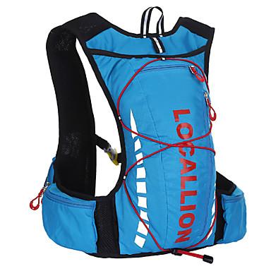 10 L Gym Çanta / Yoga Çantası Bisiklet Sırt Çantası Sırt Çantası Paketleri Kamp & Yürüyüş Balıkçılık Tırmanma Yüzme Serbest Sporlar