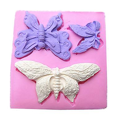 πεταλούδα φοντάν σιλικόνη καλούπια κέικ σοκολάτας μούχλα για το ψήσιμο κουζίνα εργαλείο διακόσμηση sugarcraft