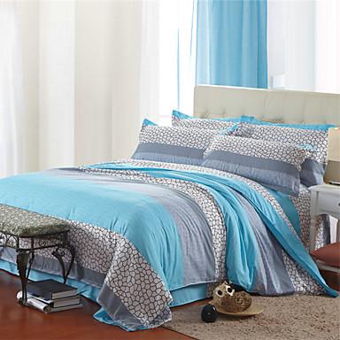 173x218 cm - Kék - Pamut