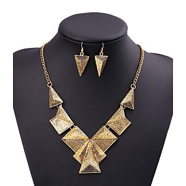Mulheres Conjunto de jóias - Original Incluir Dourado / Prata Para Casamento / Festa / Noite / Dia a Dia