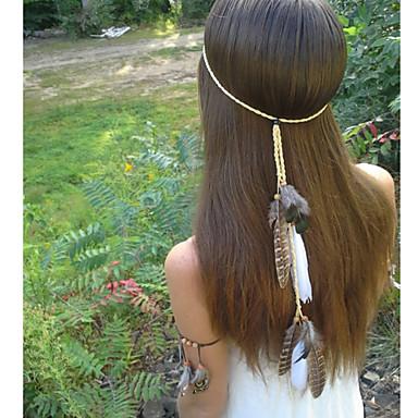 Native American, Feather Headband, Hippie Headband, Boho Headband, Bohemian Headband, Indian Headband