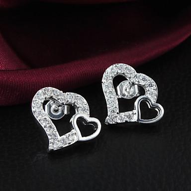 Women's Fashion Temperament 925 Silver Earrings-E405