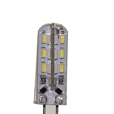 SENCART 180-220 lm G4 Żarówki LED kukurydza T 24 Diody lED SMD 3014 Dekoracyjna Ciepła biel Zimna biel AC 12V DC 12V AC 220-240V