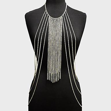 Women's Body Jewelry Body Chain Alloy Unique Design Fashion Jewelry Gold Silver Jewelry Party 1pc