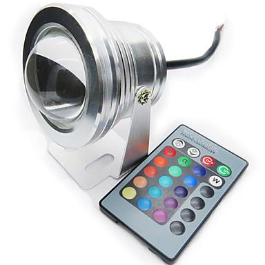 1pc 10 W 200-250 lm LED-spotpærer 1 LED perler Vanntett 12 V