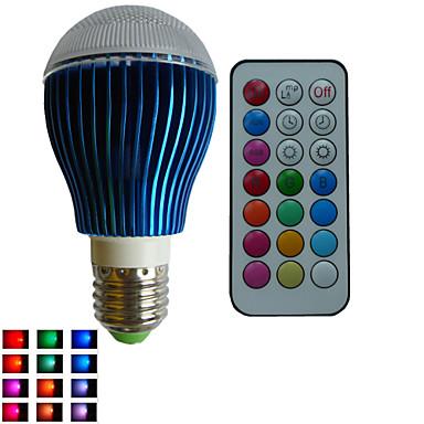 E26/E27 LED Küre Ampuller A80 3PCS led Yüksek Güçlü LED RGBlm RGB Kısılabilir Uzaktan Kumandalı Dekorotif AC 85-265