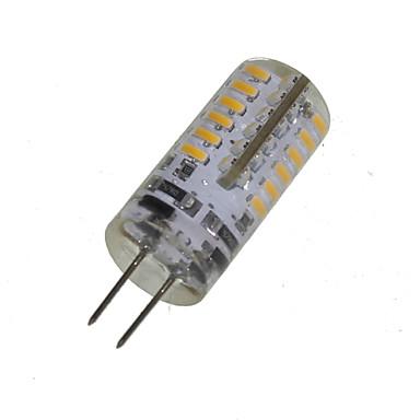 abordables Ampoules électriques-2 W Ampoules Maïs LED 150-200 lm G4 T 48 Perles LED SMD 3014 Décorative Blanc Chaud 12 V / 1 pièce / RoHs