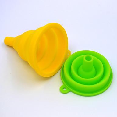 kjøkken Verktøy Plast Multifunktion trakt for Væske 1pc