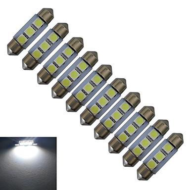 0.5W 60 lm Фестон Декоративное освещение 3 светодиоды SMD 5050 Холодный белый DC 12V