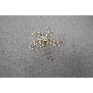 Pearl Hair Pin Headpiece