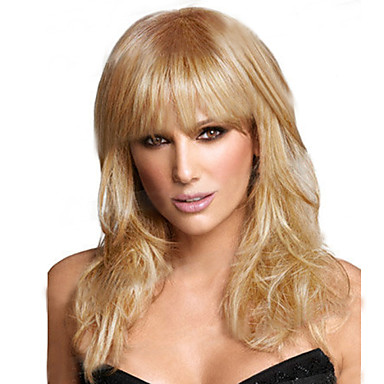 Europe And America Face NewLlight Gold To Repair The Hair Straight Hair Wig