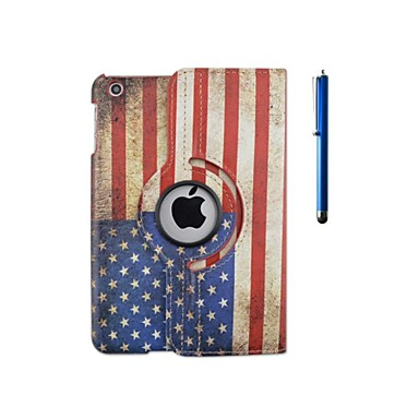 Case For Apple with Stand / 360° Rotation / Origami Full Body Cases Flag Hard PU Leather for iPad Pro 10.5 / iPad (2017) / iPad Pro 9.7''