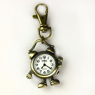 알람 시계 키 체인 시계 여성의 모양