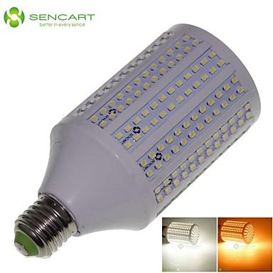 25W E26/E27 LED Mısır Işıklar T 348 SMD 3528 2200-2400 lm Sıcak Beyaz / Serin Beyaz Dekorotif AC 85-265 V 1 parça