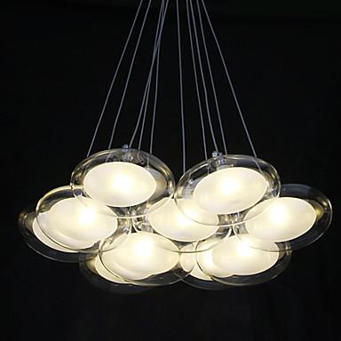 1.5 Подвесные лампы ,  Современный Хром Особенность for Светодиодная лампа Металл Гостиная Спальня Столовая Кабинет/Офис Детская