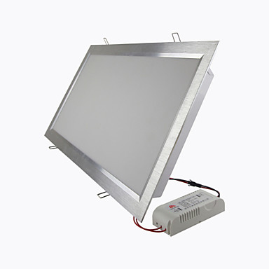 Panel Işıkları Gömme Uyumlu 180 SMD 2835 3600 lm Sıcak Beyaz Serin Beyaz Dekorotif AC 85-265 V 1 parça