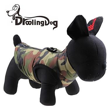 Katze / Hund T-shirt Hundekleidung Herz / camuflaje Grün Terylen Kostüm Für Haustiere