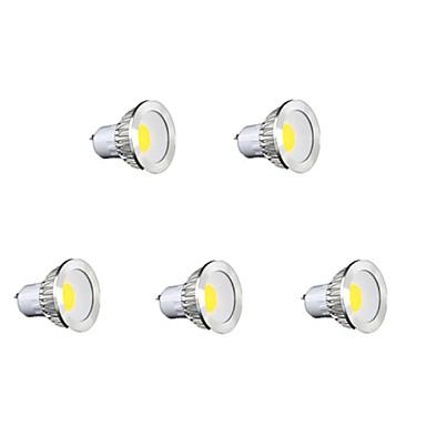 320 lm GU10 LED Σποτάκια MR16 1 leds COB Με ροοστάτη Θερμό Λευκό Ψυχρό Λευκό Φυσικό Λευκό AC 220-240V