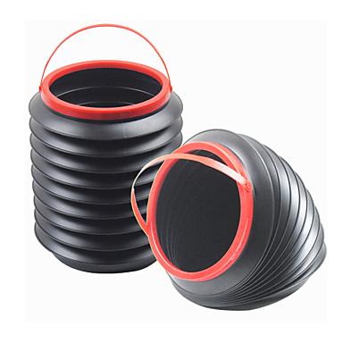 shunwei® samochód kolekcji wielofunkcyjny elastyczne 4l lidless wody / przechowywania wiadro