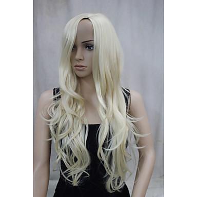 Парики из искусственных волос Волнистый Без шапочки-основы Искусственные волосы