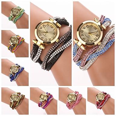 Women's Quartz Bracelet Watch Hot Sale PU Band Charm Fashion Multi-Colored