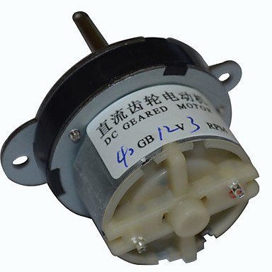 40MM DC 12V 3RPM High Torque Electric Gearbox Motor 3021943