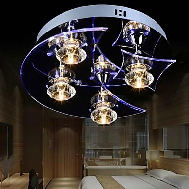 Hagyományos/ Klasszikus Retro Lámpás Ország Kuhinjski luster sa tri sijalice Gömb Modern/kortárs LED Mennyezeti lámpa Háttérfény