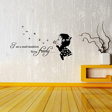 Decorative Wall Stickers - Plane Wall Stickers Words & Quotes Living Room / Bedroom / Study Room / Office / Boys Room / Girls Room /