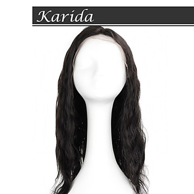 top quality14-26 inch brazil test hullám teljes csipke paróka, rövid teljes csipke paróka fekete nők számára