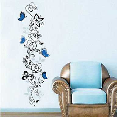 Tiere / Botanisch / Cartoon Design Wand-Sticker Flugzeug-Wand Sticker Dekorative Wand Sticker,PVC Stoff Abziehbar Haus Dekoration