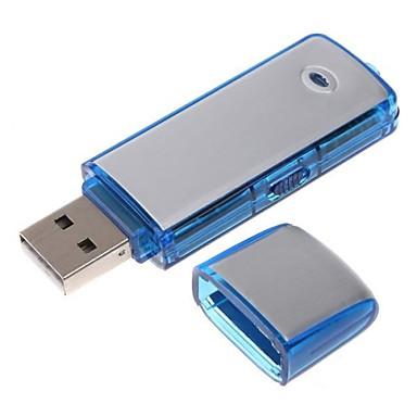 2in 1 мини аудио диктофон USB Flash Drive построить в память 8GB времени 10часов записи
