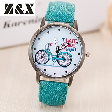 Women's Quartz Wrist Watch Hot Sale Leather Band Vintage Word Watch Fashion Black White Blue Red Brown Green Grey Yellow Rose