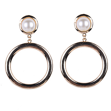 Σκουλαρίκι Κρεμαστά Σκουλαρίκια Κοσμήματα 2pcs Γάμου / Πάρτι / Καθημερινά / Causal / Αθλητικά Μαργαριτάρι / Κράμα Γυναικεία